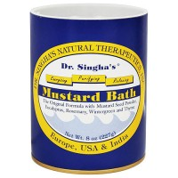 Dr. Singhas natural therapeutics mustard bath, original formula - 8 oz