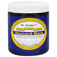 Dr.Singhas Natural Therapeutics Mustard Bath - 16 oz