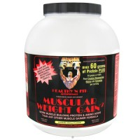 Healthy n fit muscular weight gain 2 extreme vanilla - 4.4 Lb