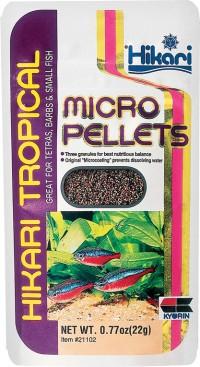 Hikari Sales Usa Inc tropical micro pellets - .77 ounce, 24 ea
