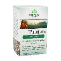 Organic India Tulsi Tea, Original, Holy Basil - 18 Tea Bags, 6 pack