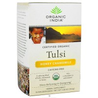 Organic India Organic Tulsi Tea Bags, Honey Chamomile - 18 ea, 6 pack