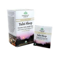 Organic india herbal supplement tulsi sleep tea bags for true wellness  -  18 ea ,6 pack