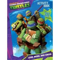 Teenage Mutant Ninja Turtles Activity Book with Stickers - 6 ea