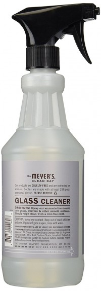 Mrs. Meyers clean day glass cleaner spray, lavender  -  24 Oz