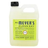 Mrs. Meyers clean day liquid hand soap refill, lemon verbena  -  33 Oz, 6pack