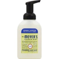 Mrs. Meyer's clean day foaming hand soap lemon verbena scent - 10 oz ,6 pack