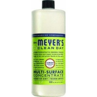 Mrs. Meyers multisurface clnr,conc,lmn verb - 32 oz, 6pack