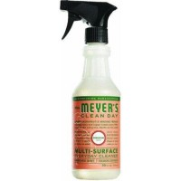 Mrs. Meyers multisurface grnium - 16 oz, 6pack