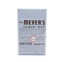 Mrs. Meyers clean day dryer sheets lavender - 80 ea