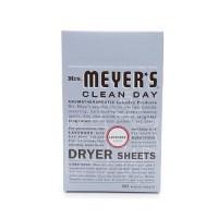Mrs. Meyers clean day dryer sheets lavender- 80 ea
