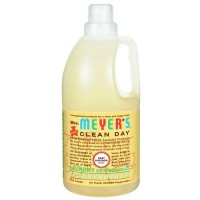 Mrs. Meyers clean day laundry detergent, baby blossom  -  64 Oz