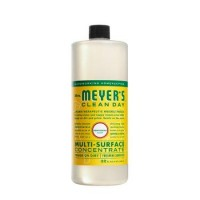 Mrs. Meyers multi surface concentrate honeysuckle - 32 oz, 6pack