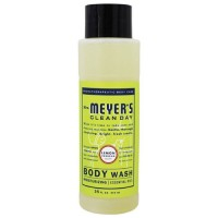 Mrs. Meyer's clean day body wash lemon verbena - 16 oz, 6 pack