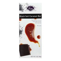 Vosges haut caramel black salt - 3 oz, 12 pack
