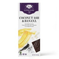 Vosges super dark coconut ash and banana - 3 oz, 12 pack