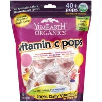 Yummy earth organic vitamin c lollipops over - 8.5 oz