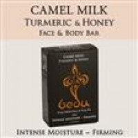 Bedu Naturals Camel Milk Bar Soap Turmeric & Honey - 4 oz, 6 pack