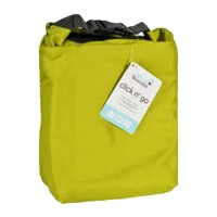 Blueavocado click n go insulated roll top bag moss green  -  1 ea