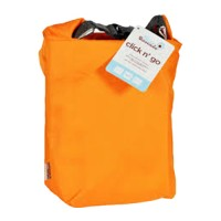 Blueavocado click n go insulated roll top bag orange  -  1 ea