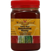 Wedderspoon raw beechwood honey - 17.6 oz