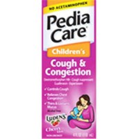 Pediacare nighttime multi-symptom liquid cold for children - 4 oz