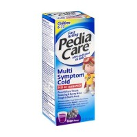 Pediacare multi-symptom cold plus acetaminophen for children - 4 oz