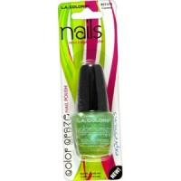 LA colors craze nail polish wired - 3 ea