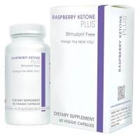 Creative bioscience raspberry ketone plus stimulant free veggie capsules - 60 ea