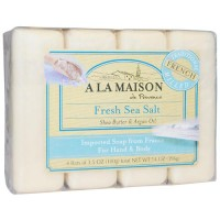 A La Maison de provence fresh sea salt 4 bars - 3.5 oz