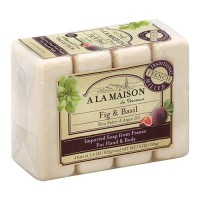 A La Maison de provence fig and basil 4 bars - 3.5 oz