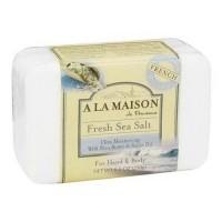 A la maison traditional french milled ultra moisturizing bar soap, fresh sea salt - 8.8 oz
