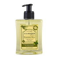 A La Maison de provence liquid soap for hand and body rosemary mint - 10 oz
