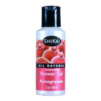 Shikai Moisturizing Shower Gel, Pomegranate - 2 oz, 12 pack