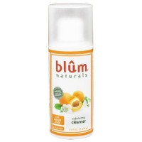 Blum naturals exfoliating cleanser with apricot seeds - 5 oz