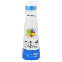 Method - laundry detergent 50 loads fresh air - 20 oz