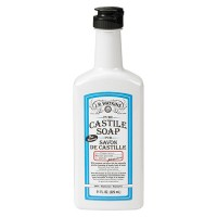 J.R. Watkins hand soap  castile liquid peppermint - 1 ea,11 oz