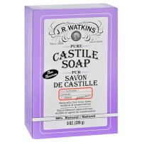 J.R. Watkins bar soap castile lavender - 1 ea,8 oz