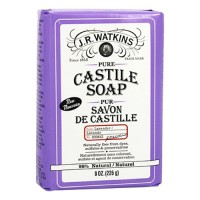J.R. Watkins bar soap  castile  peppermint - 1 ea,8 oz