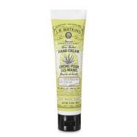 J.R. Watkins hand cream, aloe and green tea - 3.3 oz, tube