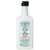 J R watkins natural apothecary rejuvenating foot cream, peppermint - 11 oz