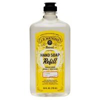 J.R. Watkins naturals hand soap refill lemon- 24 oz