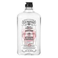 J R watkins liquid detergent dish soap, grapefruit - 24 oz