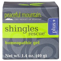 Peaceful Mountain Shingles Rescue Plus Homeopathic Gel - 1.4 oz