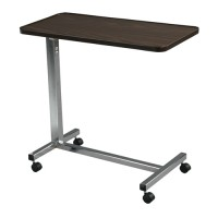 Drive medical non tilt top overbed table, chrome - 1 ea