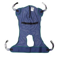 Drive Medical Full Body Patient Lift Sling, Mesh with Commode Cutout, Large - 1 ea