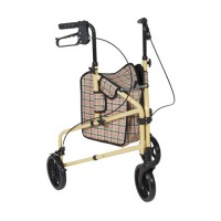 Drive Medical Winnie Lite Supreme 3 Wheel Rollator Rolling Walker