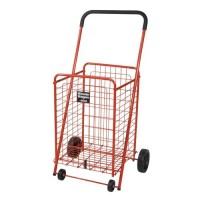 Drive Medical Winnie Wagon All Purpose Shopping Utility Cart, Red - 1 ea