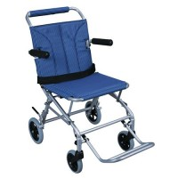 Drive Medical Super Light Folding Transport Wheelchair with Carry Bag - 1 ea
