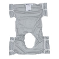 Drive Medical Patient Lift Sling with Commode Opening, Dacron - 1 ea